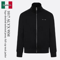 1017 Alyx 9Sm logo-detailed technical jersey full-zip track
