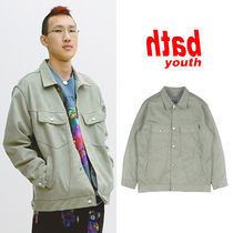 ★YOUTHBATH★新作★送料込み★韓国★ECO SUEDE TRUCKER JACKET