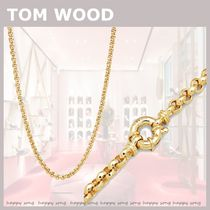 TOM WOOD★Thick Rolo Chain Gold ゴールドチェーン