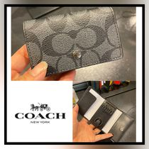 [COACH] SALE!! キーケース FIVE RING KEY CASE SIGNATURE