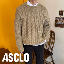 Duffle Wool Cable Knit (4color)