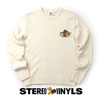 STEREO VINYLS COLLECTION(ステレオビニールズコレクション) ニット・セーター ●SV X JERRY● BOUCLE FACE HEATHERED KNIT