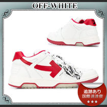 SALE!!送料込≪OFF-WHITE≫ Out of Office ロゴ スニーカー