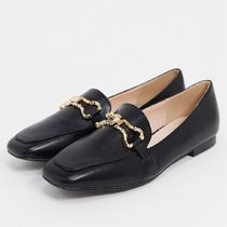 ASOS RAID 【Wide Fit】 Clareta loafers with snaffle