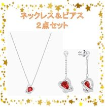 【swarovski】OUTSTANDING  ネックレス&ピアス 2点セット