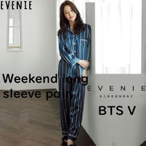 【EVENIE】BTS 韓国限定 パジャマ Weekend long sleeve pair