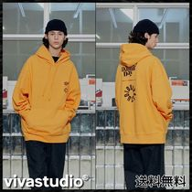 [VIVASTUDIO] KOMPAKT EVERY DAMN DAY HOODIE JA [YELLOW]