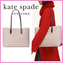 SALE*kate spade*spade flower all day large tote*ポーチ付