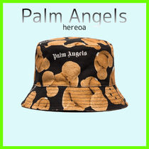 送料関税込!Palm Angels X Browns50  Bear Print Bucket Hat