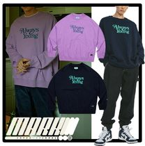 ★送料・関税込★MARKM★Always Young Crewnec.k★Tシャツ★