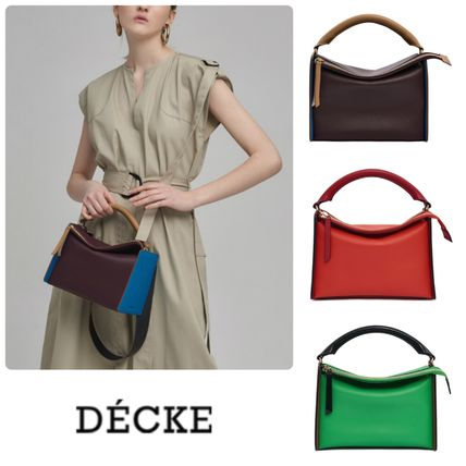 DECKE ★人気 ACCORDION BAG * Burgundy・Red・Lime 関税送料込
