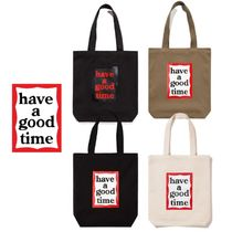【have a good time】FRAME TOTE トートバッグ 4色