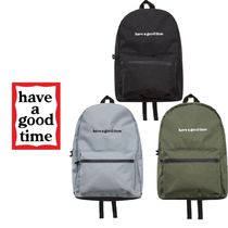 have a good time(ハブアグットタイム) バックパック・リュック 【have a good time】SIDE LOGO BACKPACK バックパック 3色