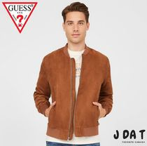 Guessゲス☆Brink Faux-Suede Bomber Jacketジャケット