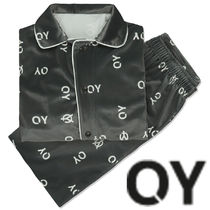 ★OY★VELVET LOGO HOME WEAR SET-CHARCOAL GREY★正規品/送料込