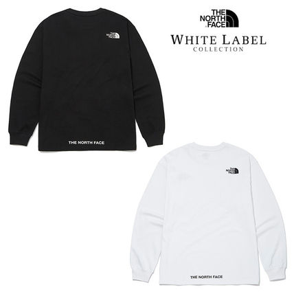 THE NORTH FACE Tシャツ・カットソー ★THE NORTH FACE★送料込★韓国 人気 PLUMAS L/S R/TEE NT7TM01
