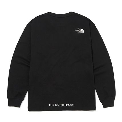 THE NORTH FACE Tシャツ・カットソー ★THE NORTH FACE★送料込★韓国 人気 PLUMAS L/S R/TEE NT7TM01(7)