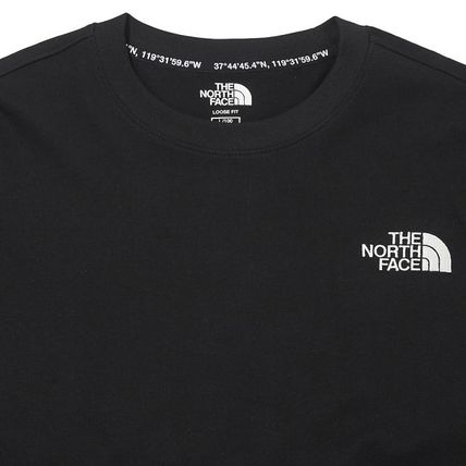 THE NORTH FACE Tシャツ・カットソー ★THE NORTH FACE★送料込★韓国 人気 PLUMAS L/S R/TEE NT7TM01(2)