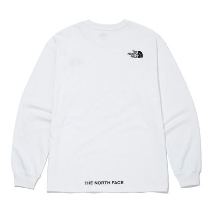 THE NORTH FACE Tシャツ・カットソー ★THE NORTH FACE★送料込★韓国 人気 PLUMAS L/S R/TEE NT7TM01(12)
