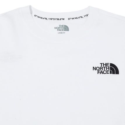 THE NORTH FACE Tシャツ・カットソー ★THE NORTH FACE★送料込★韓国 人気 PLUMAS L/S R/TEE NT7TM01(8)