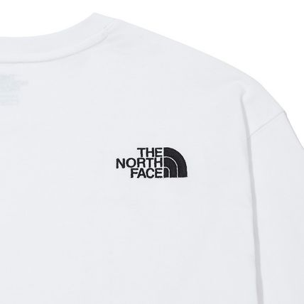 THE NORTH FACE Tシャツ・カットソー ★THE NORTH FACE★送料込★韓国 人気 PLUMAS L/S R/TEE NT7TM01(9)