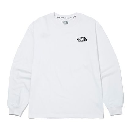 THE NORTH FACE Tシャツ・カットソー ★THE NORTH FACE★送料込★韓国 人気 PLUMAS L/S R/TEE NT7TM01(13)