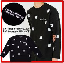 I AM NOT A HUMAN BEING(ヒューマンビーイング) ニット・セーター ★人気★【I AM NOT A HUMAN BEING】★DICE KNI.T★ニット★