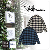 【送料無料】Ron Herman ロンハーマンFarrell Long Sleeve Shirt