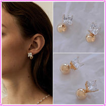 【MIDNIGHT MOMENT.】one square earring〜ピアス