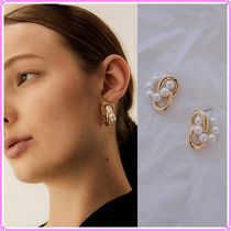 【MIDNIGHT MOMENT.】twin pearl earring〜ピアス