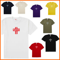 【Supreme】Cross Box Logo Tee 20AW/FW