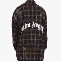 20AW パームエンジェルス PALM ANGELS ROUND LOGO SHIRT