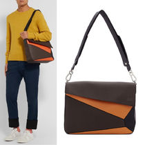 LOEWE PUZZLE MESSENGER BAG GRAINED LEATHER