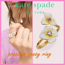 SALE*kate spade*precious pansy ring*指輪*パンジー