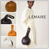 「LEMAIRE」PURSE BAG SOFT NAPPA LEATHER まんまるバッグ