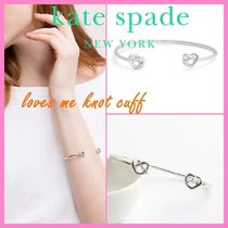 kate spade* バングル ブレスレット*loves me knot cuff