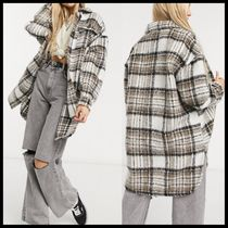 Only longline shacket in check