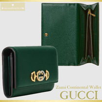 【人気★日本完売☆新春SALE】GUCCI Zumi Continental Wallet