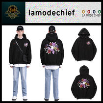 [LAMODECHIEF]LAMO ARTWORK OVER SIZE HOODY ☆人気☆日本未入荷
