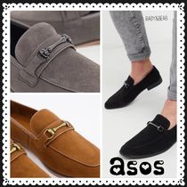 ASOS☆DESIGN loafers in faux suede