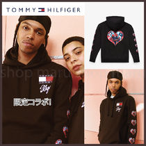 Tommy x Lewis x Mago◆限定 コラボ グラフィック フーディー