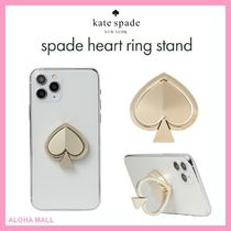 【kate spade】spade heart ring stand♪可愛いスマホリング♪