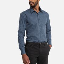 LA Redoute(ラルドゥート) シャツ La Redoute Printed Slim Fit Shirt with Long Sleeves