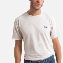 LA Redoute(ラルドゥート) Tシャツ・カットソー La Redoute Printed Cotton T-Shirt with Crew-Neck