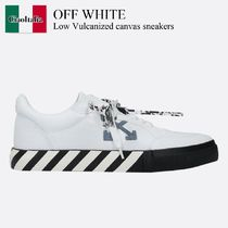 Off White Low Vulcanized canvas sneakers
