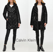 Calvin Klein★Petite Hooded Packable Down ダウンコート