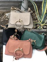 SEE BY CHLOE ★Joan Mini Leather & Suede bag_CHS18WS975330