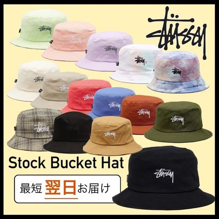 STUSSY ハット 送料追跡込 [STUSSY] Stock Bucket Hat バケット・ハット
