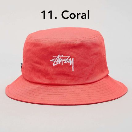 STUSSY ハット 送料追跡込 [STUSSY] Stock Bucket Hat バケット・ハット(13)