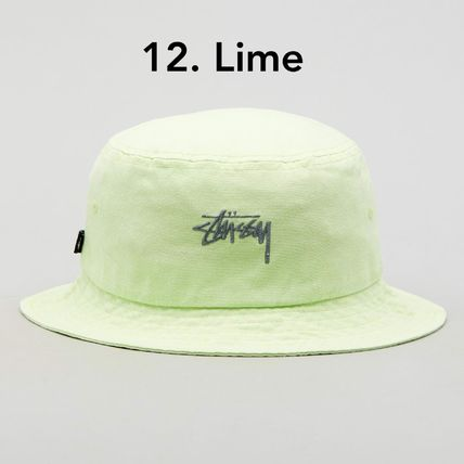 STUSSY ハット 送料追跡込 [STUSSY] Stock Bucket Hat バケット・ハット(14)